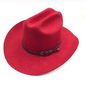 EDDY BROS Red XX Fur Blend Cowboy Hat 7 56
